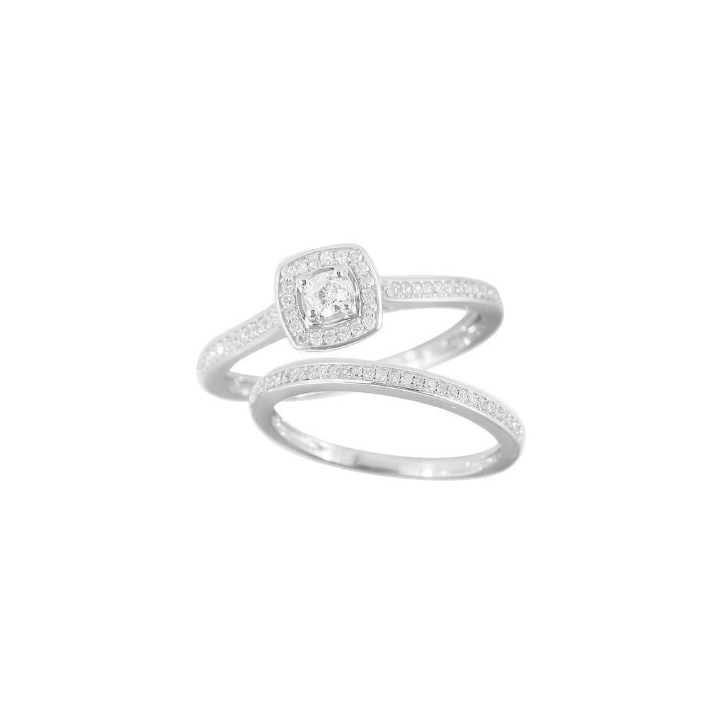 14KT DIAMOND RING WITH 0.35CARAT DIAMONDS
