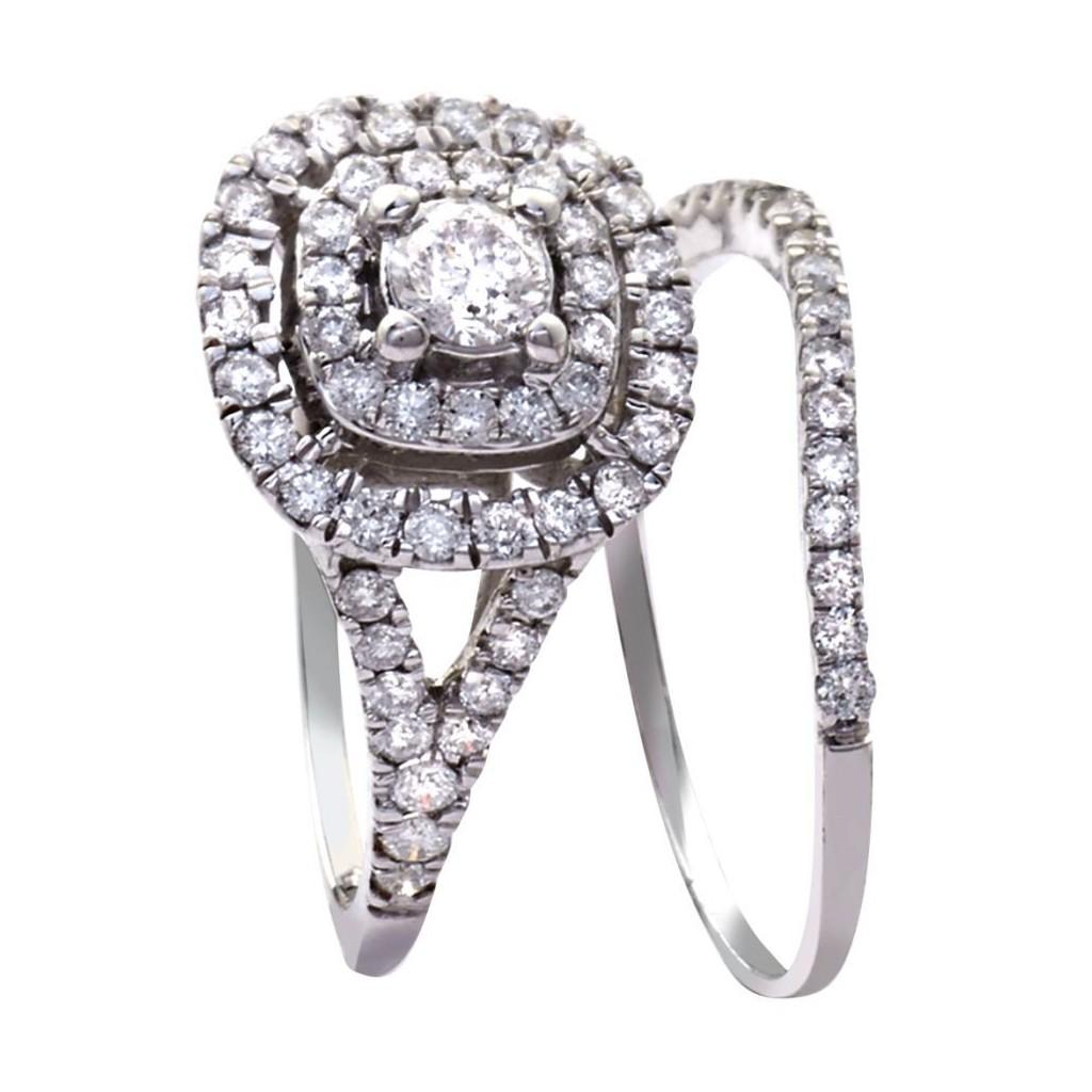 14KT DIAMOND RING WITH0.85 CARAT DIAMONDS