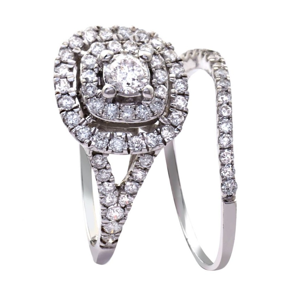 Engagement Ring with 0.85 Carats