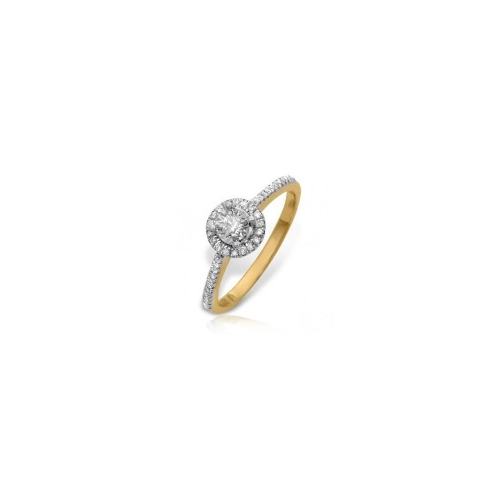 14KT DIAMOND RING WITH 0.30CARAT DIAMONDS