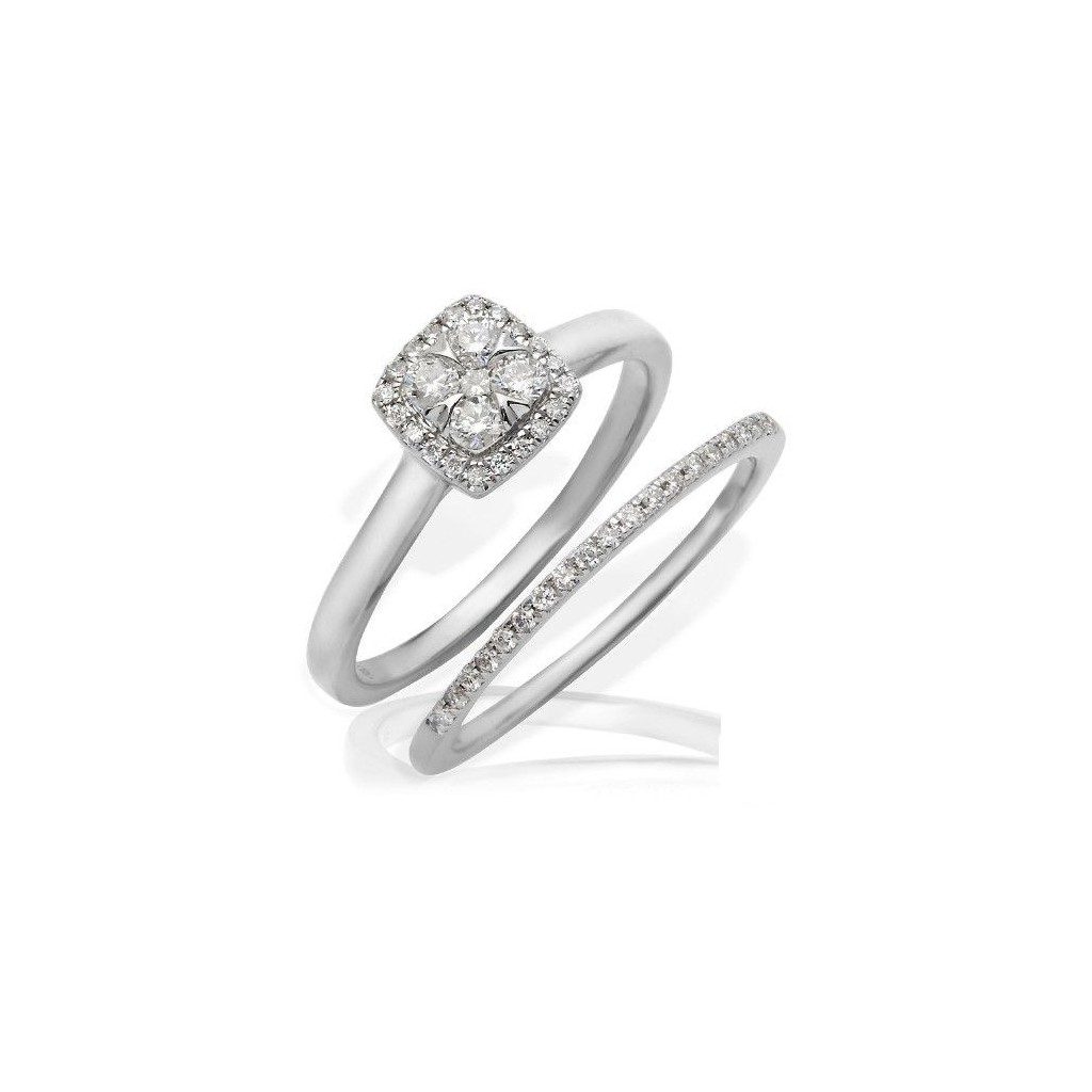 Engagement Ring with 0.40 Carats
