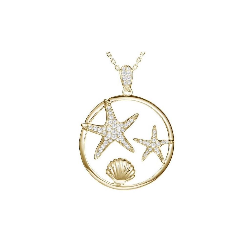 DIAMONDS SEALIFE COLLECTION - STARFISH AND SHELL