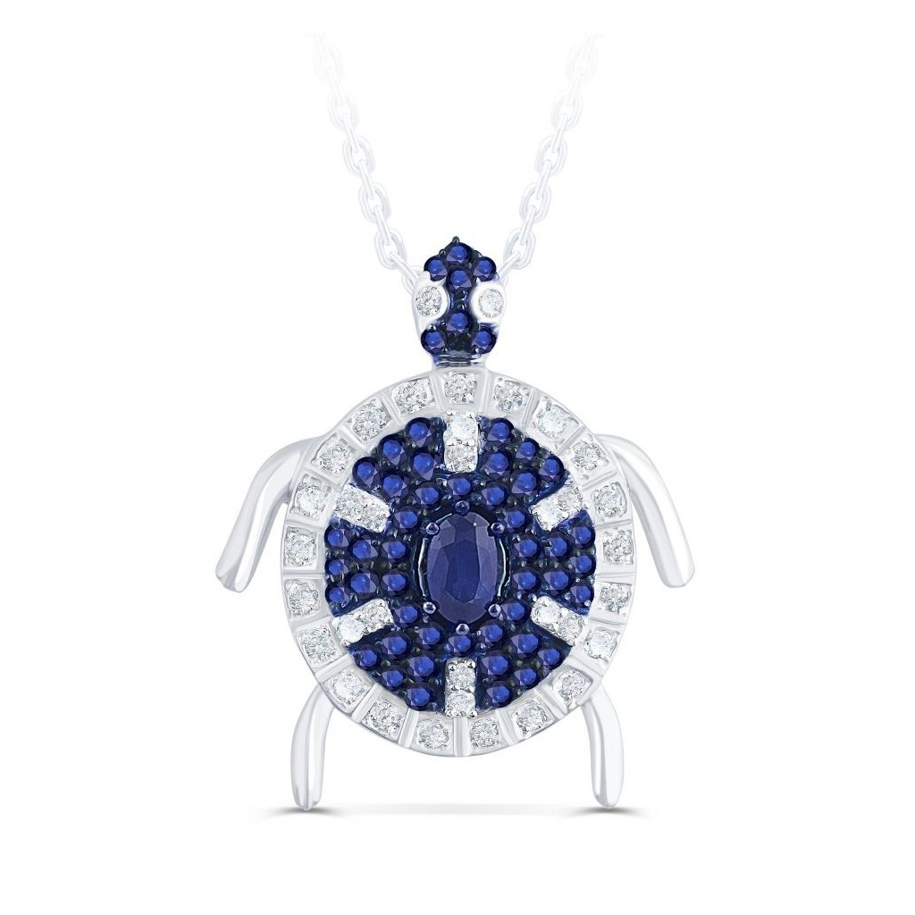 Sapphire Sea Life Collection - Turtle