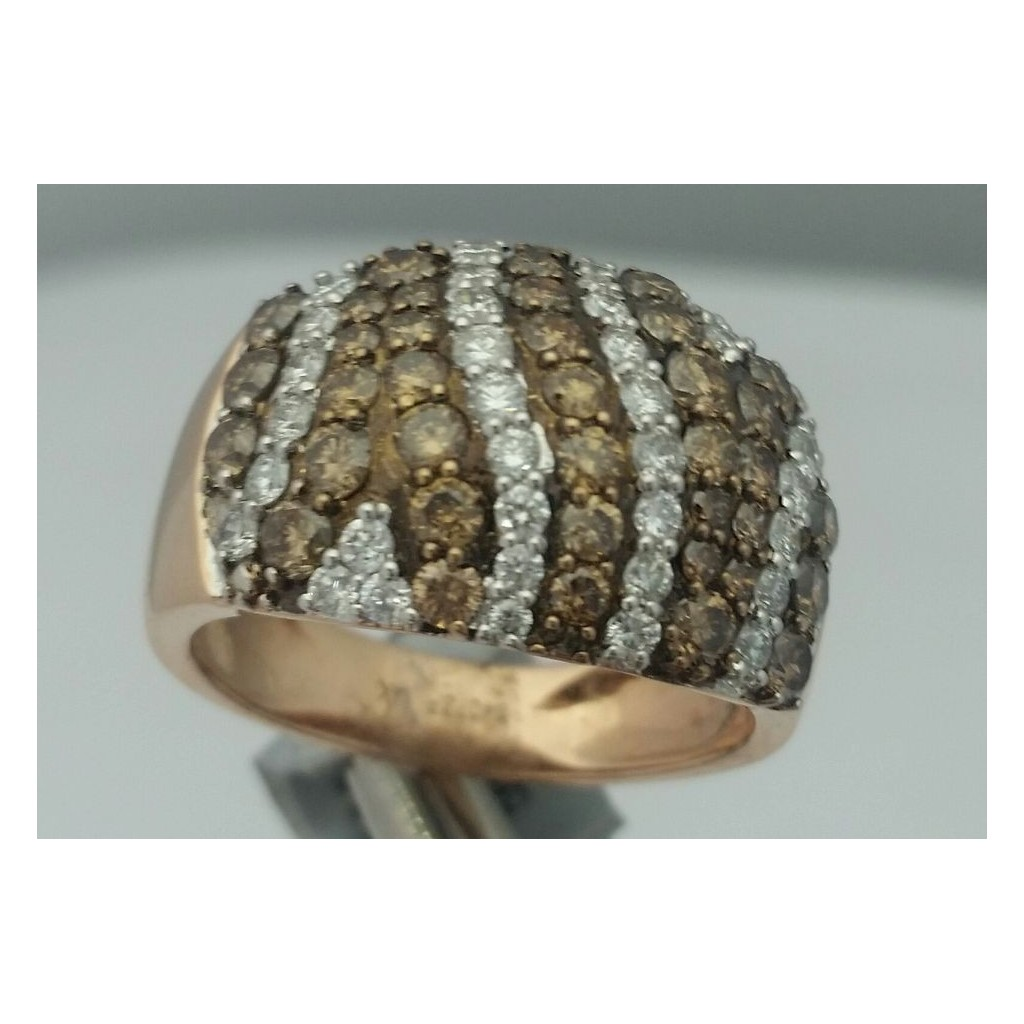 Champagne Diamond Ring with 2.15 Carats