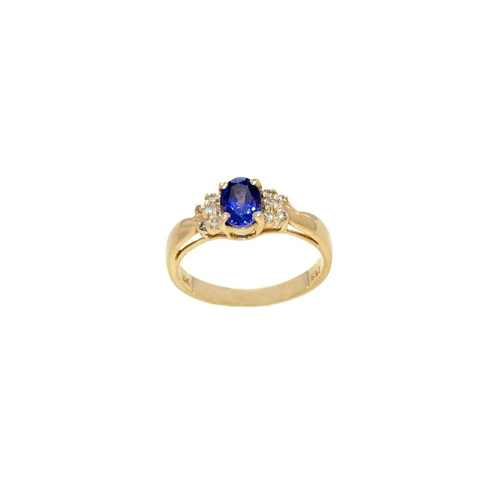 14k yellow gold ring 0.75ct...