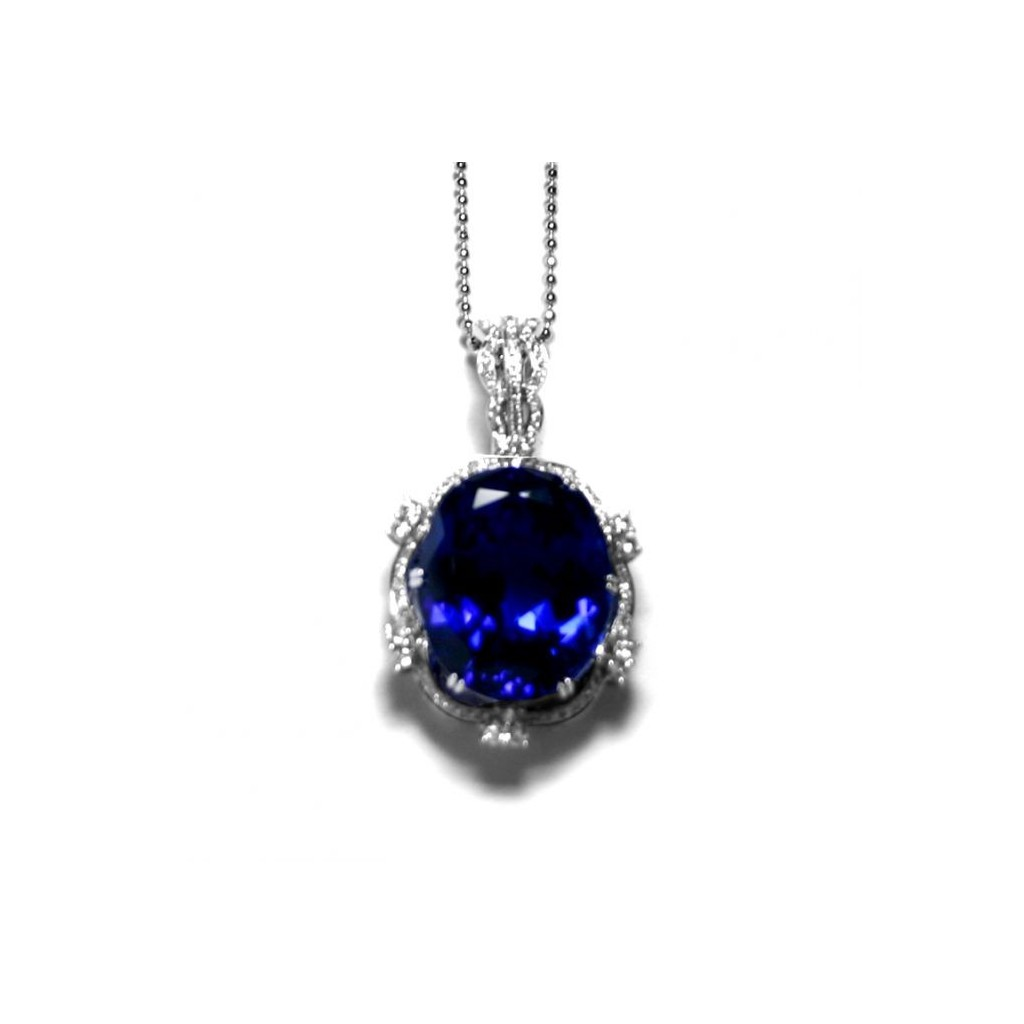Tanzanite Pendent with 33.35 Carats