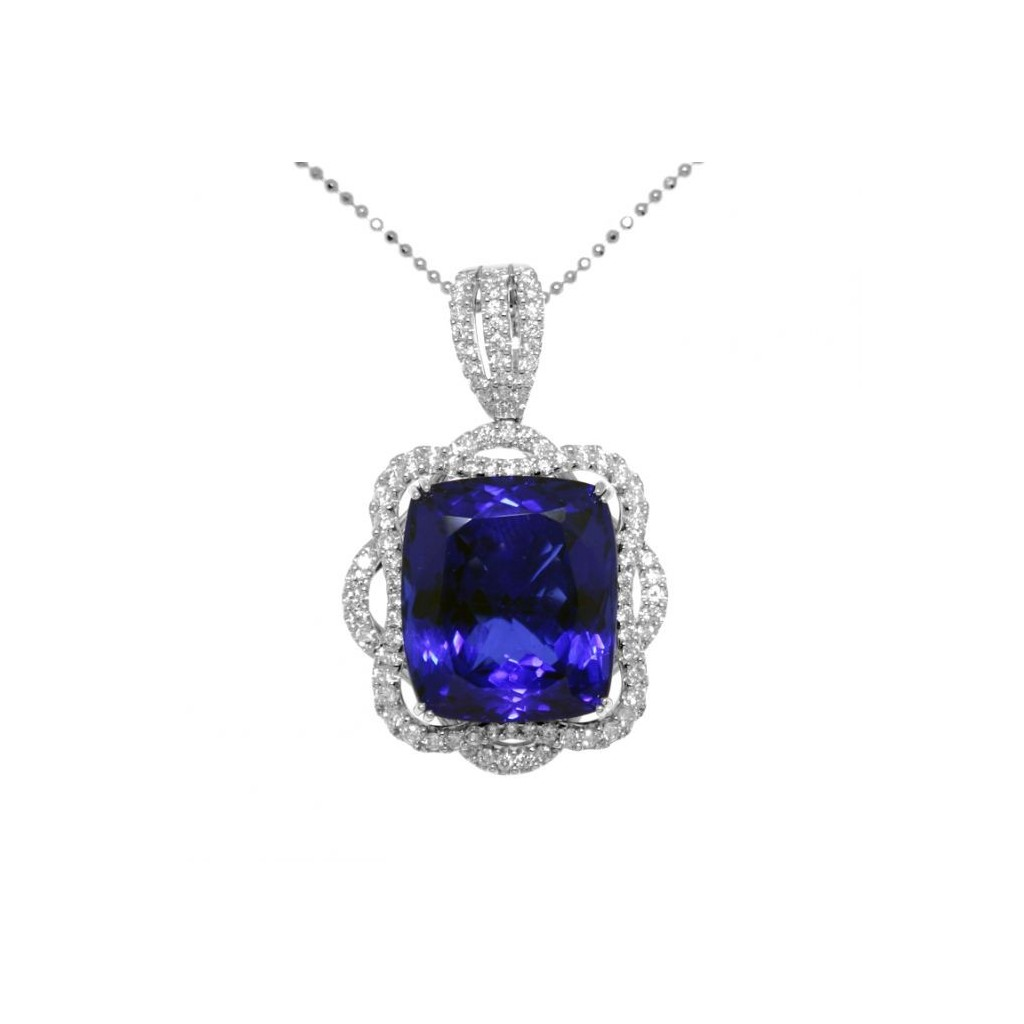 Tanzanite Pendent with 31.10 Carats