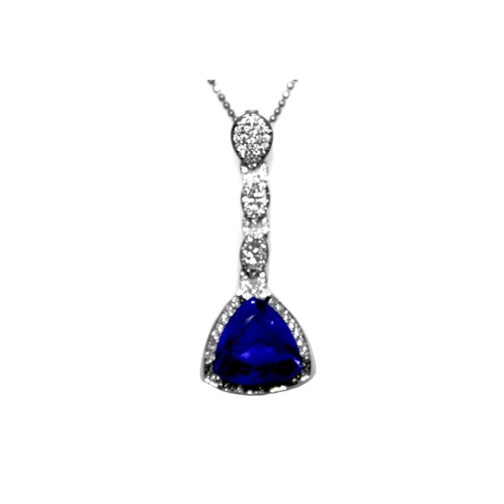 Tanzanite Pendent with 9.64 Carats