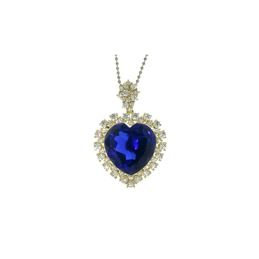 Tanzanite Pendent with 51.42 Carats