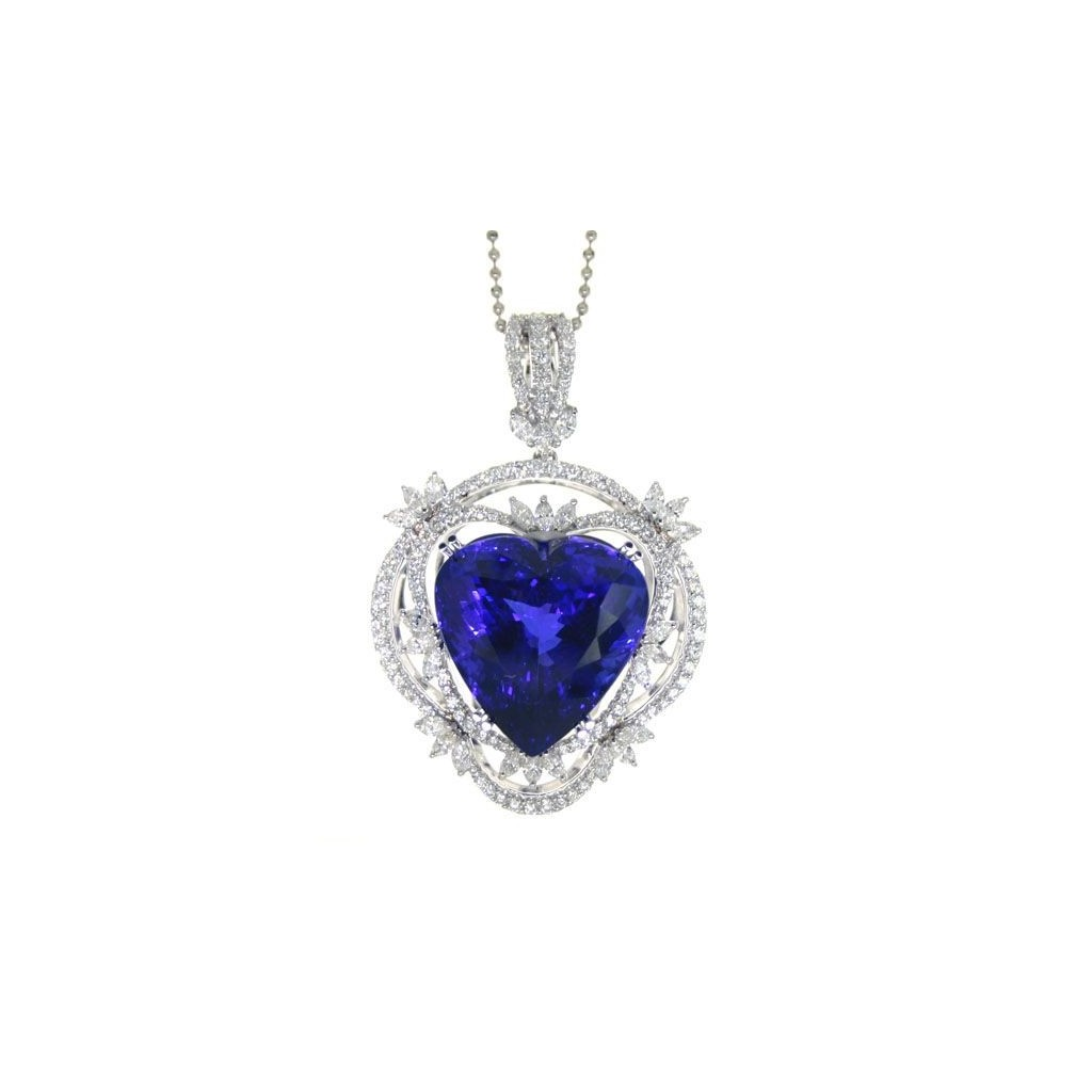 Tanzanite Pendent with 44.96 Carats