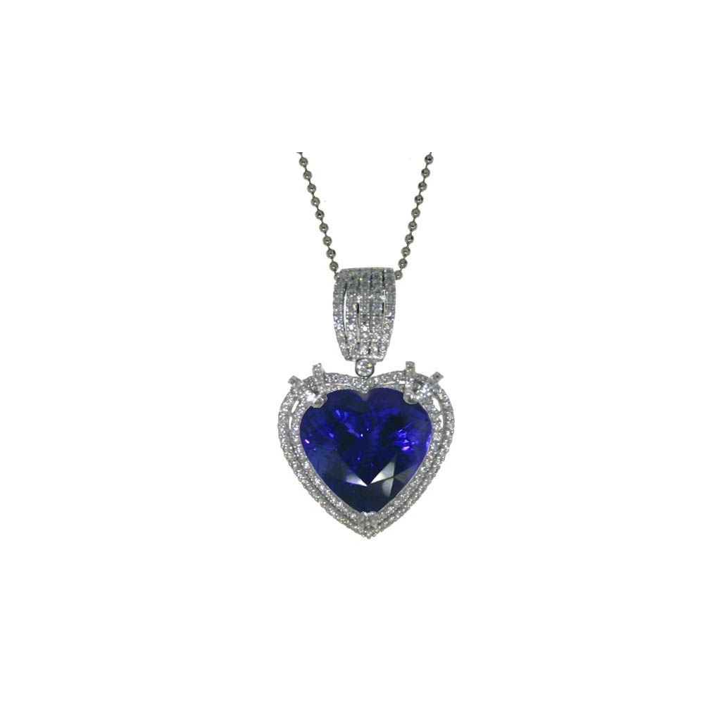 Tanzanite Pendent with 25.47 Carats