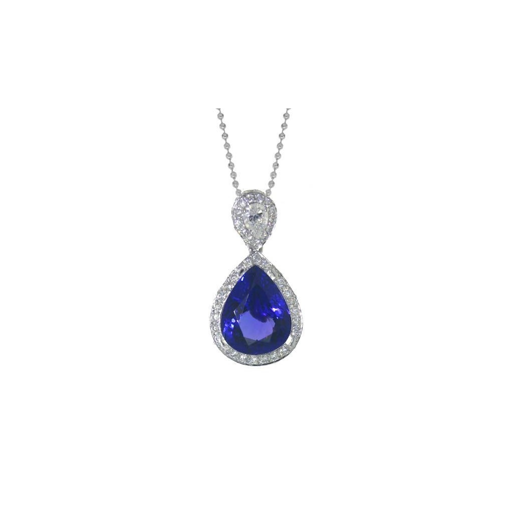 Tanzanite Pendent with 9.67 Carats