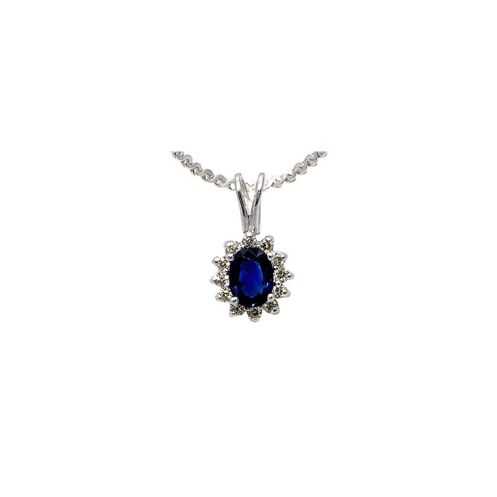 Sapphire Pendent with 1.28 Carats