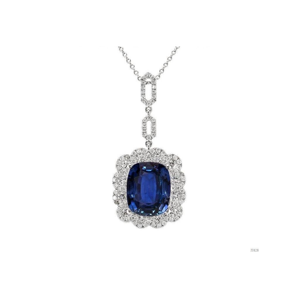 Sapphire Pendent with 9.41 Carats