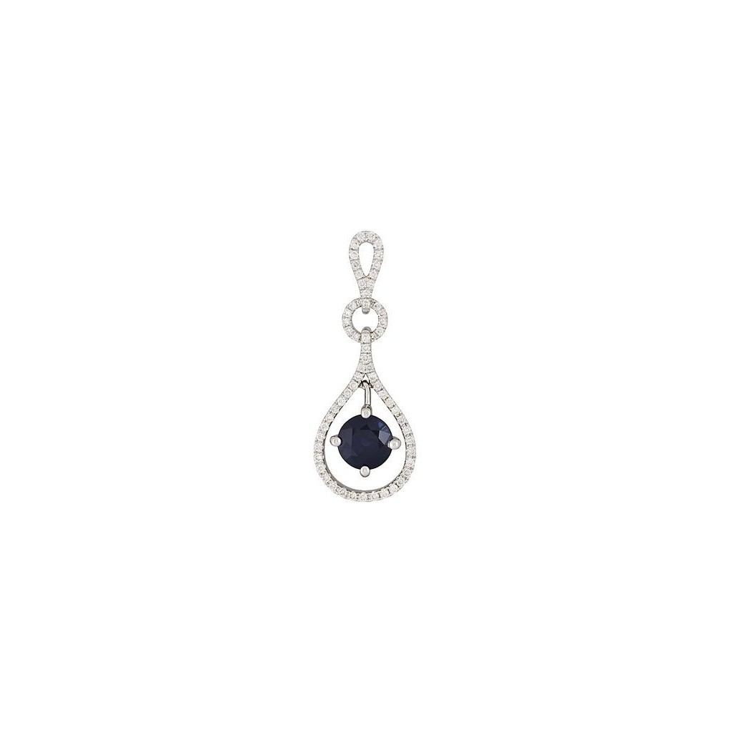 Sapphire Pendent with 1.34 Carats