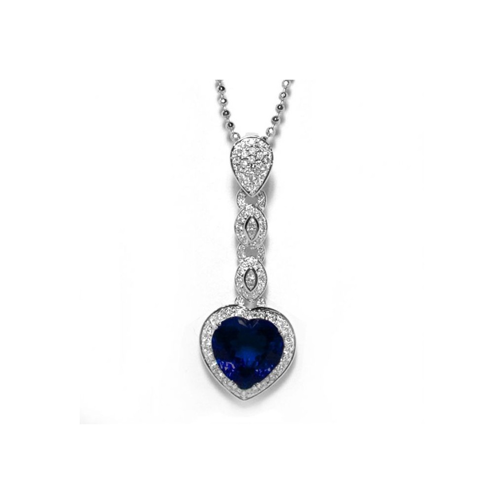 Sapphire Pendent with 5.43 Carats