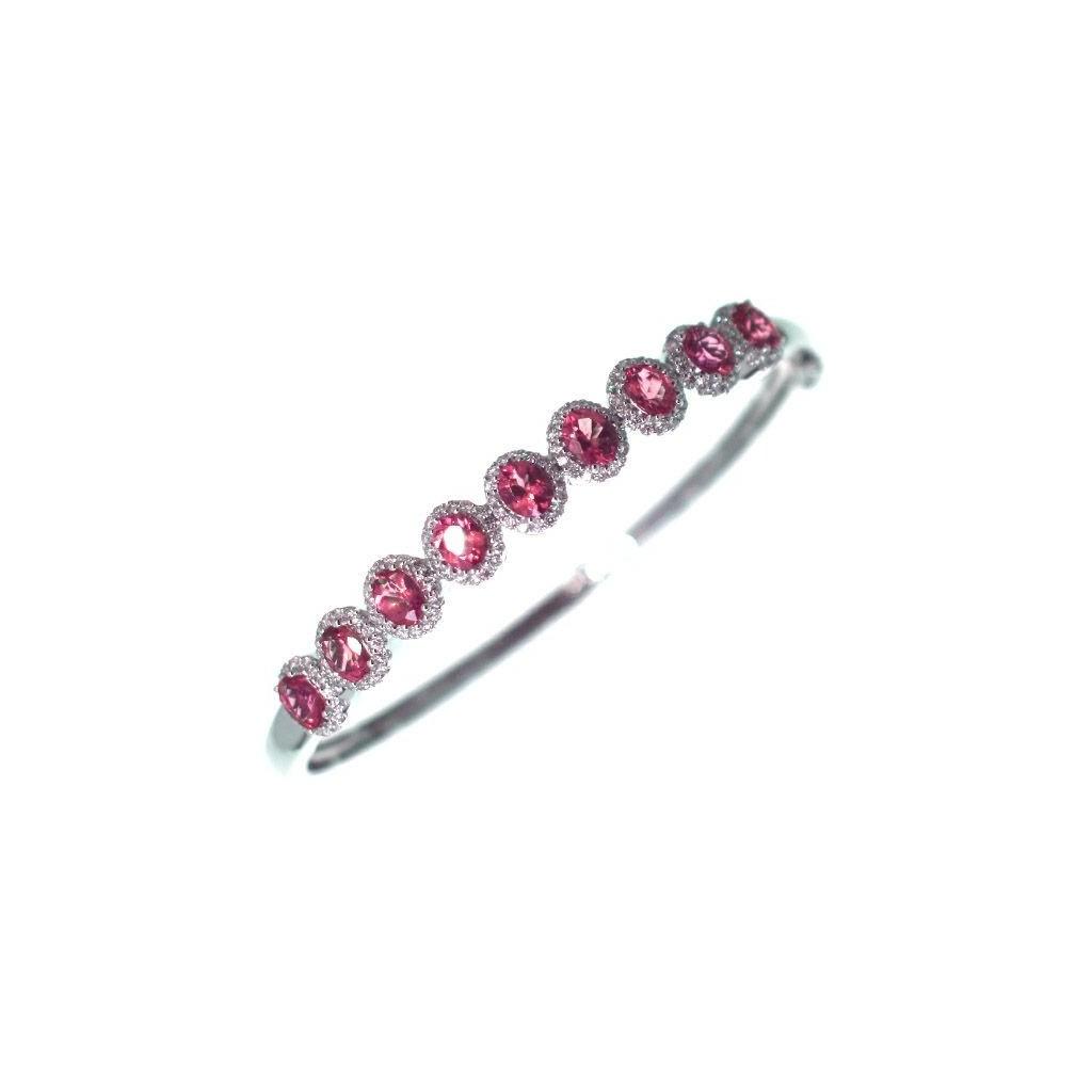 Ruby Diamond Bracelet with 4.82 Carats