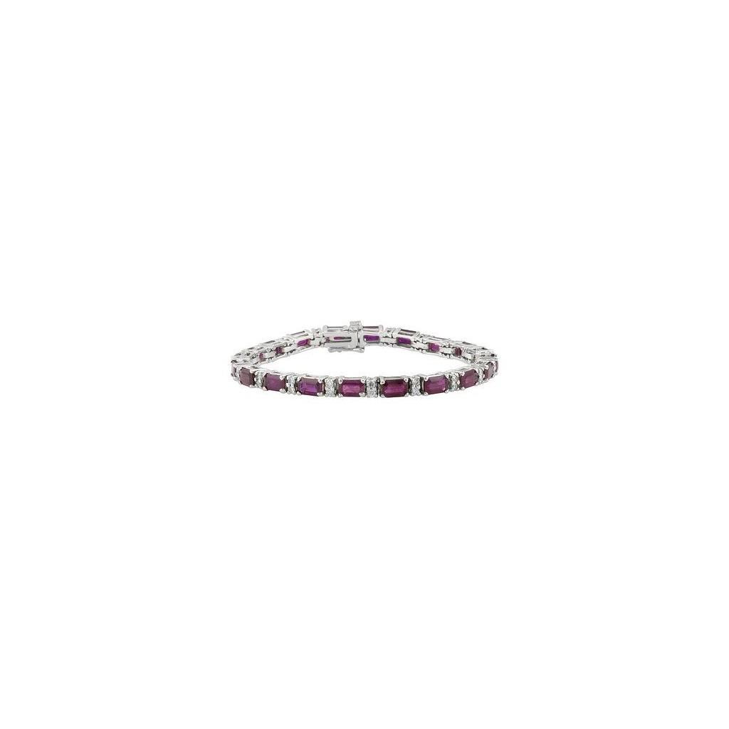 Ruby Diamond Bracelet with 13.12 Carats