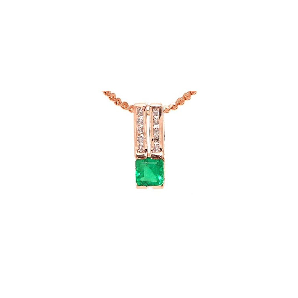 Emerald Pendent with 1.02 Carats