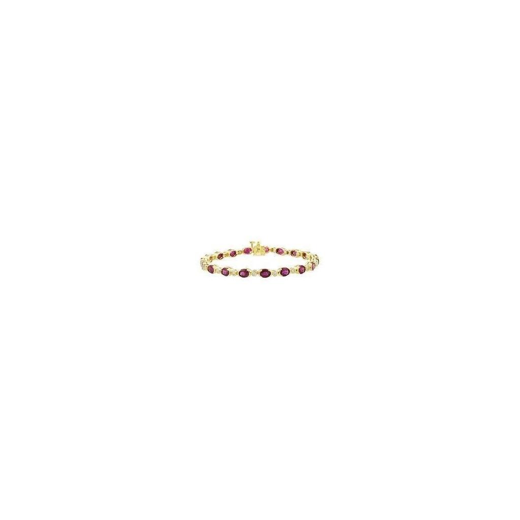 Ruby Diamond Bracelet with 11.22 Carats