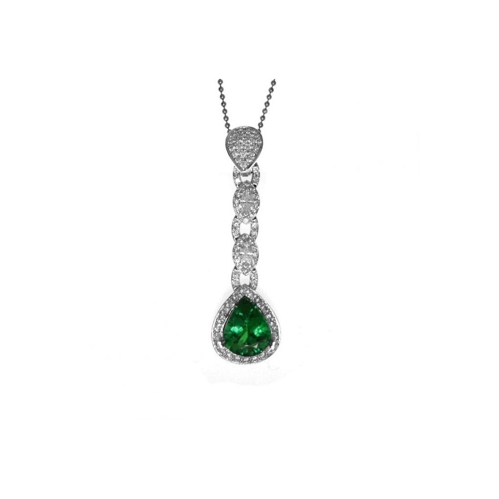 Emerald Pendent with 4.62 Carats