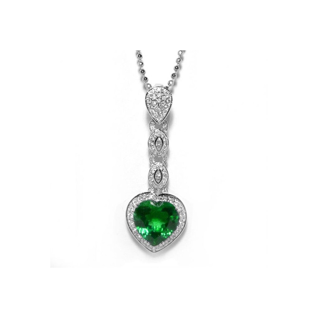 Emerald Pendent with 4.72 Carats