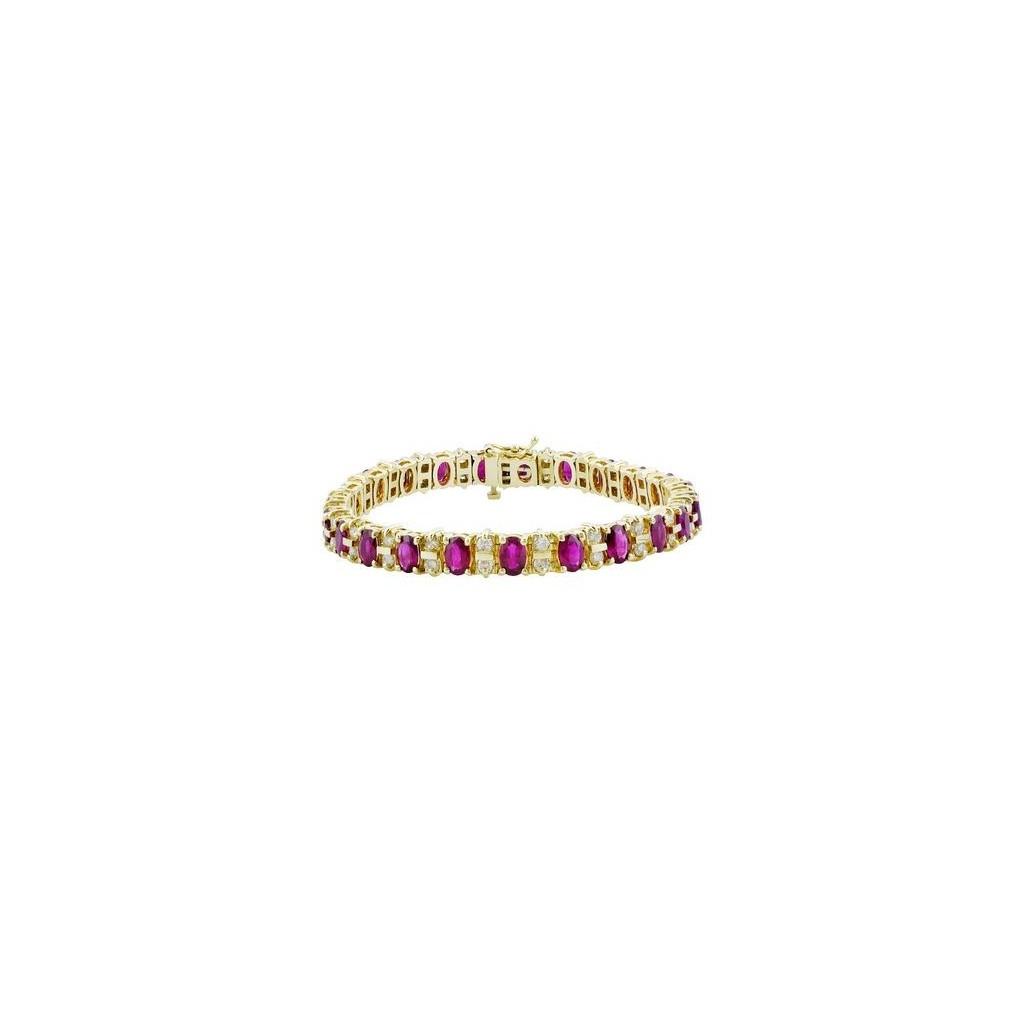 Ruby Diamond Bracelet with 16.24 Carats