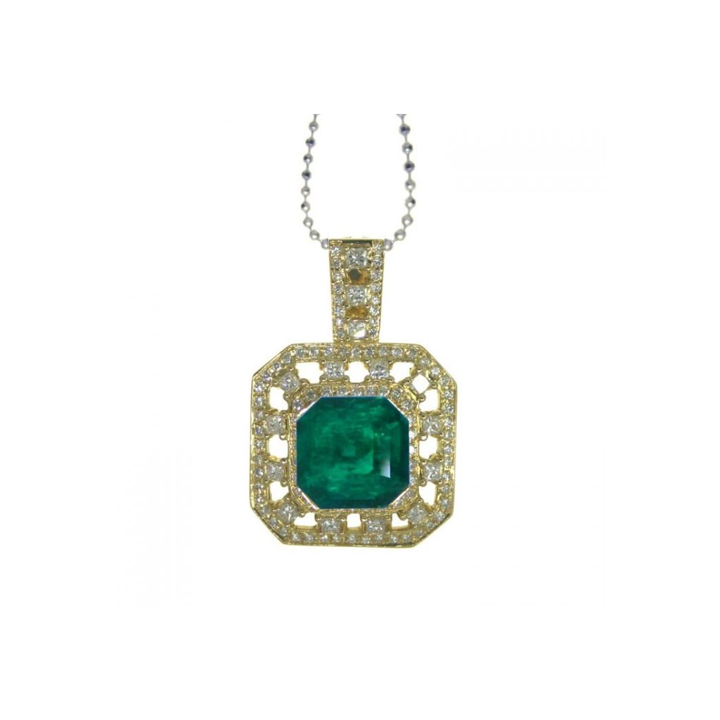 Emerald Pendent with 6.18 Carats