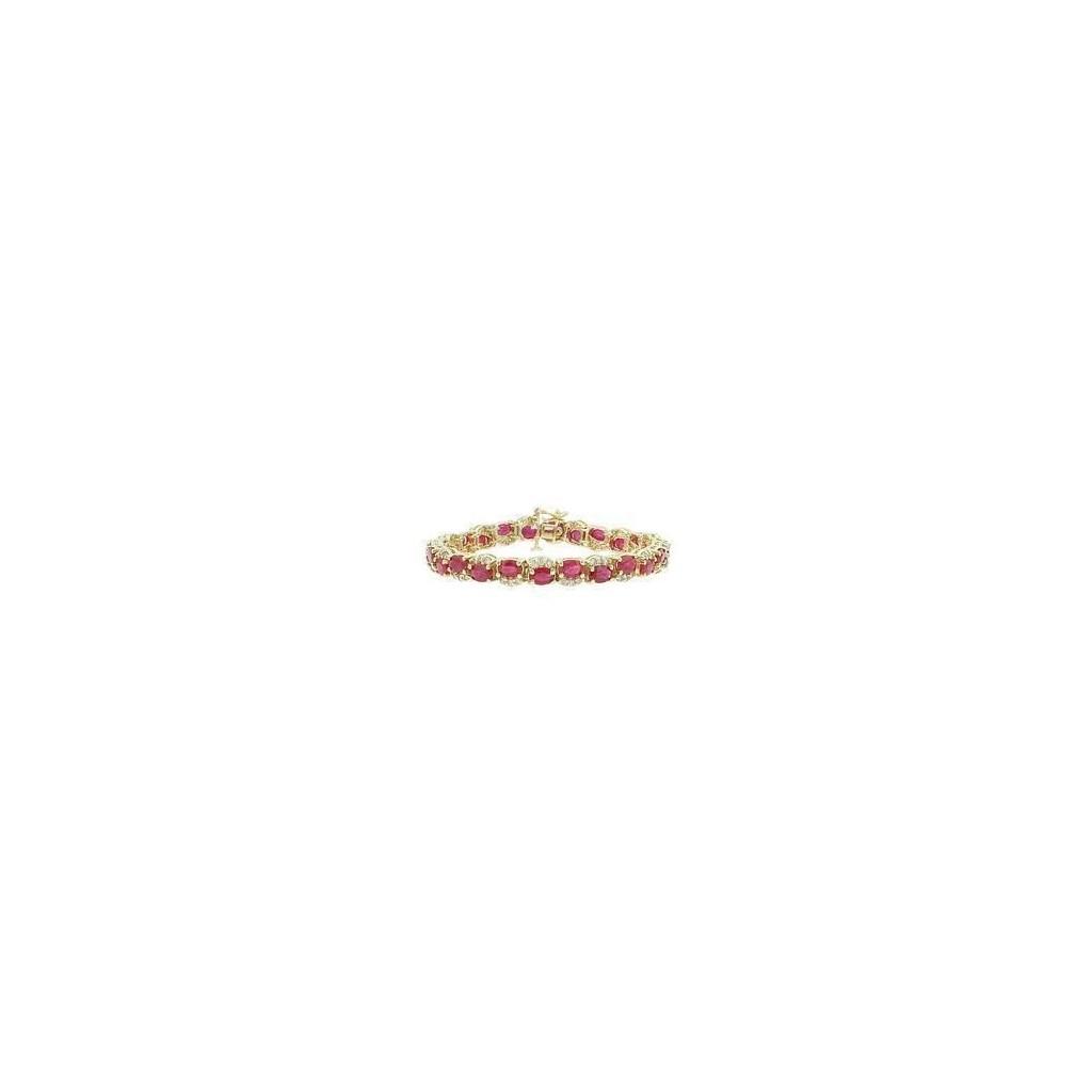 Ruby Diamond Bracelet with 10.85 Carats