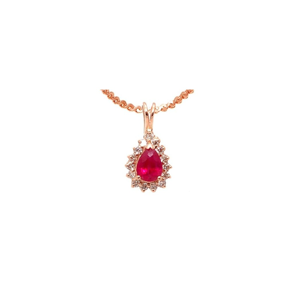 Ruby Pendent with 1.06 Carats