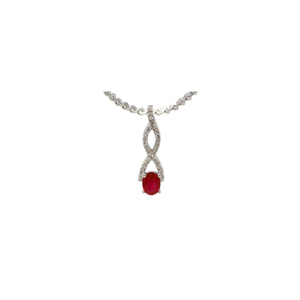 Ruby Pendent with 1.24 Carats