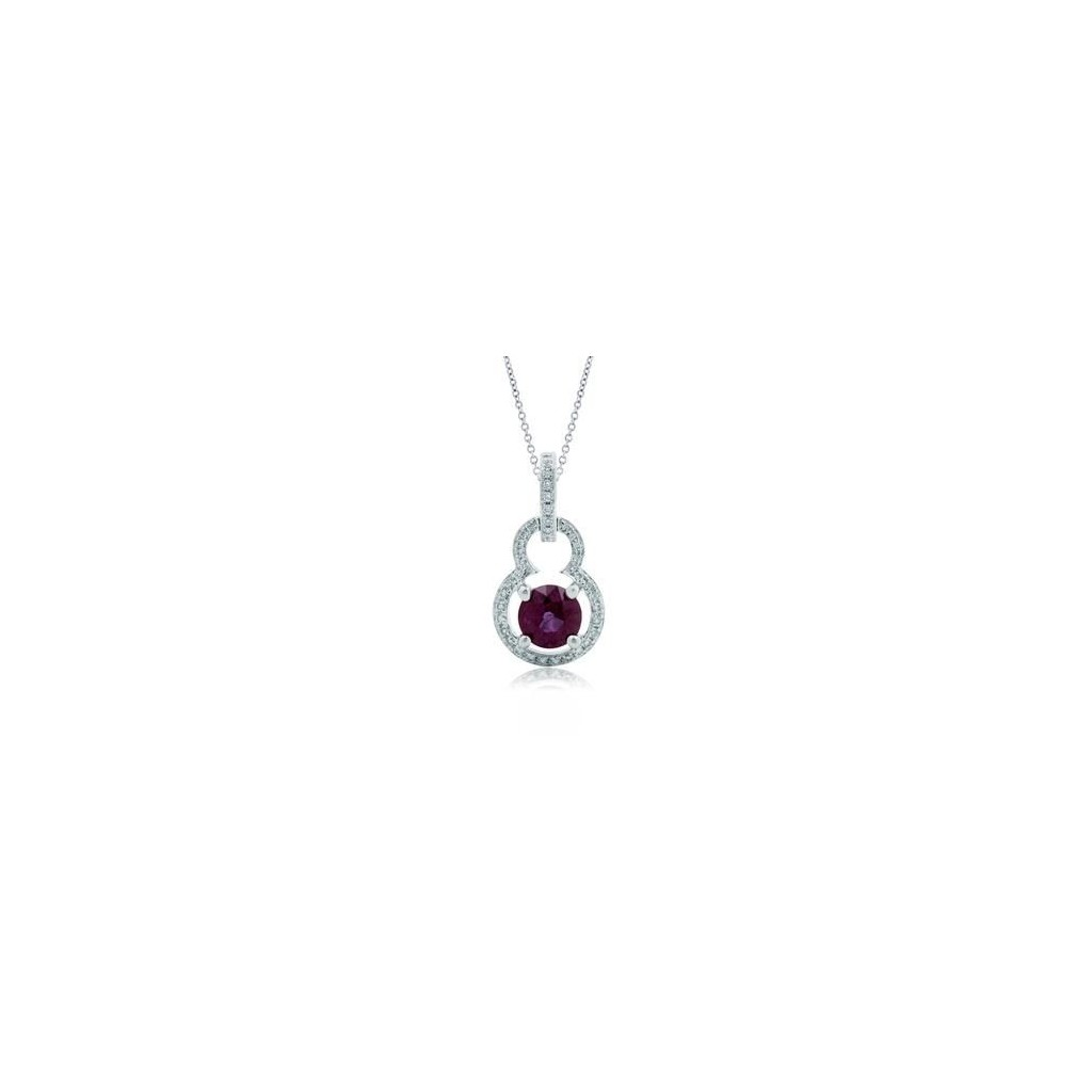 Ruby Pendent with 0.87 Carats