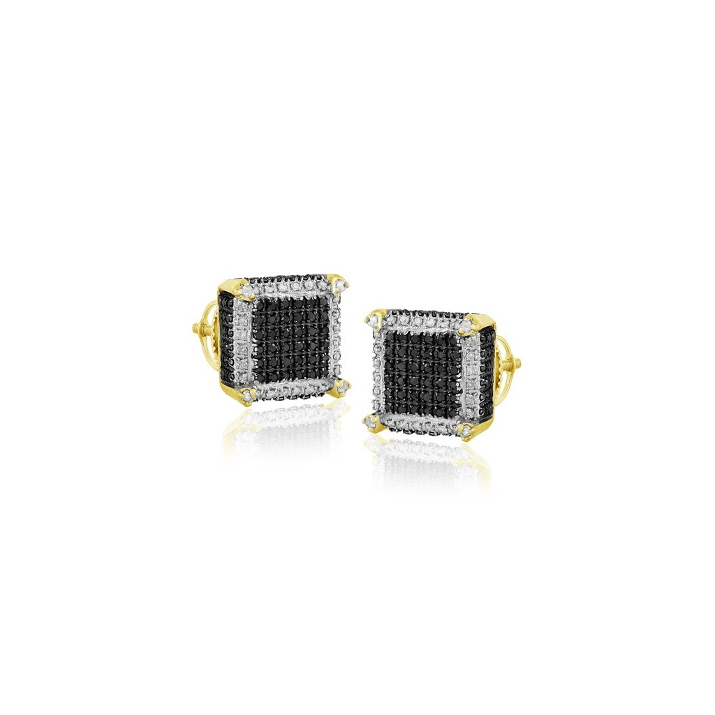Diamond Earrings with 0.85 Carats