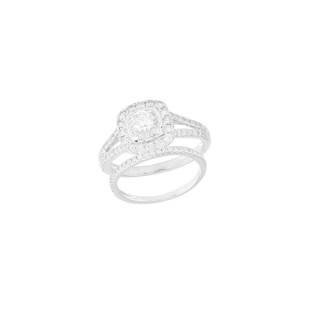 14K 1.00ctw Diamond Bridal...