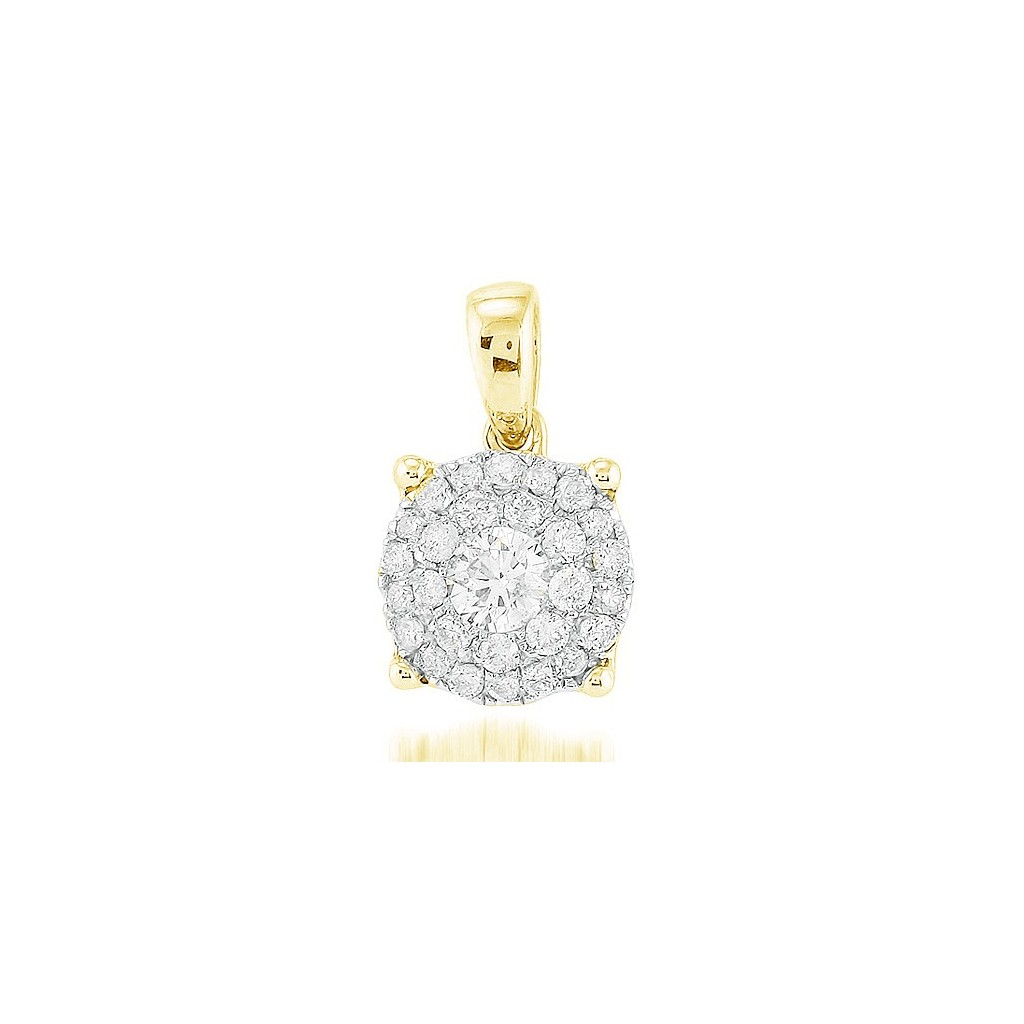 Diamond Pendant with 0.50 Carats