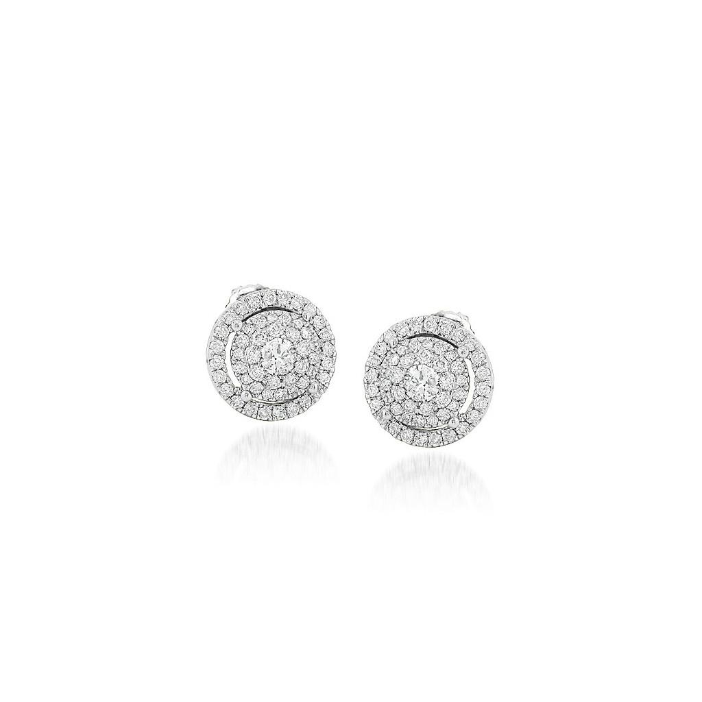 Diamond Earrings with 1.50 Carats