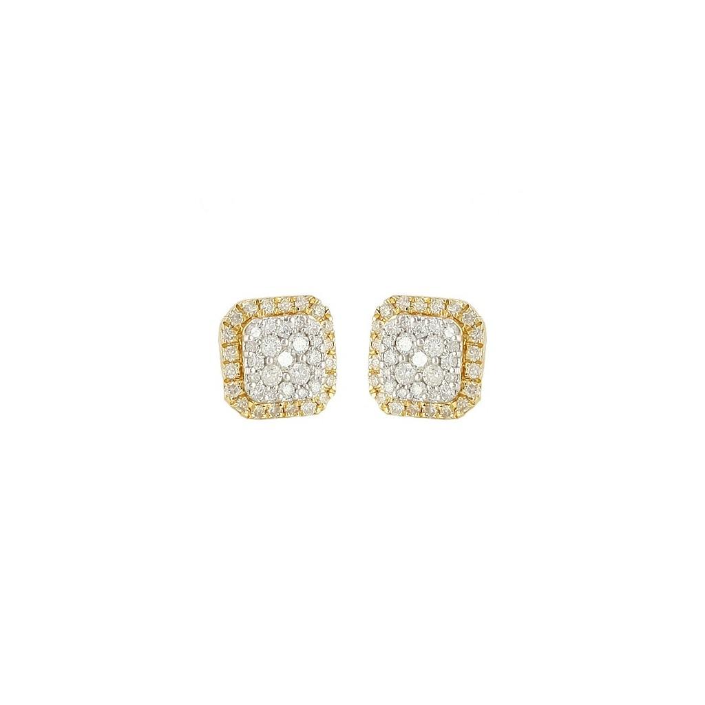 Diamond Earrings with 0.55 Carats