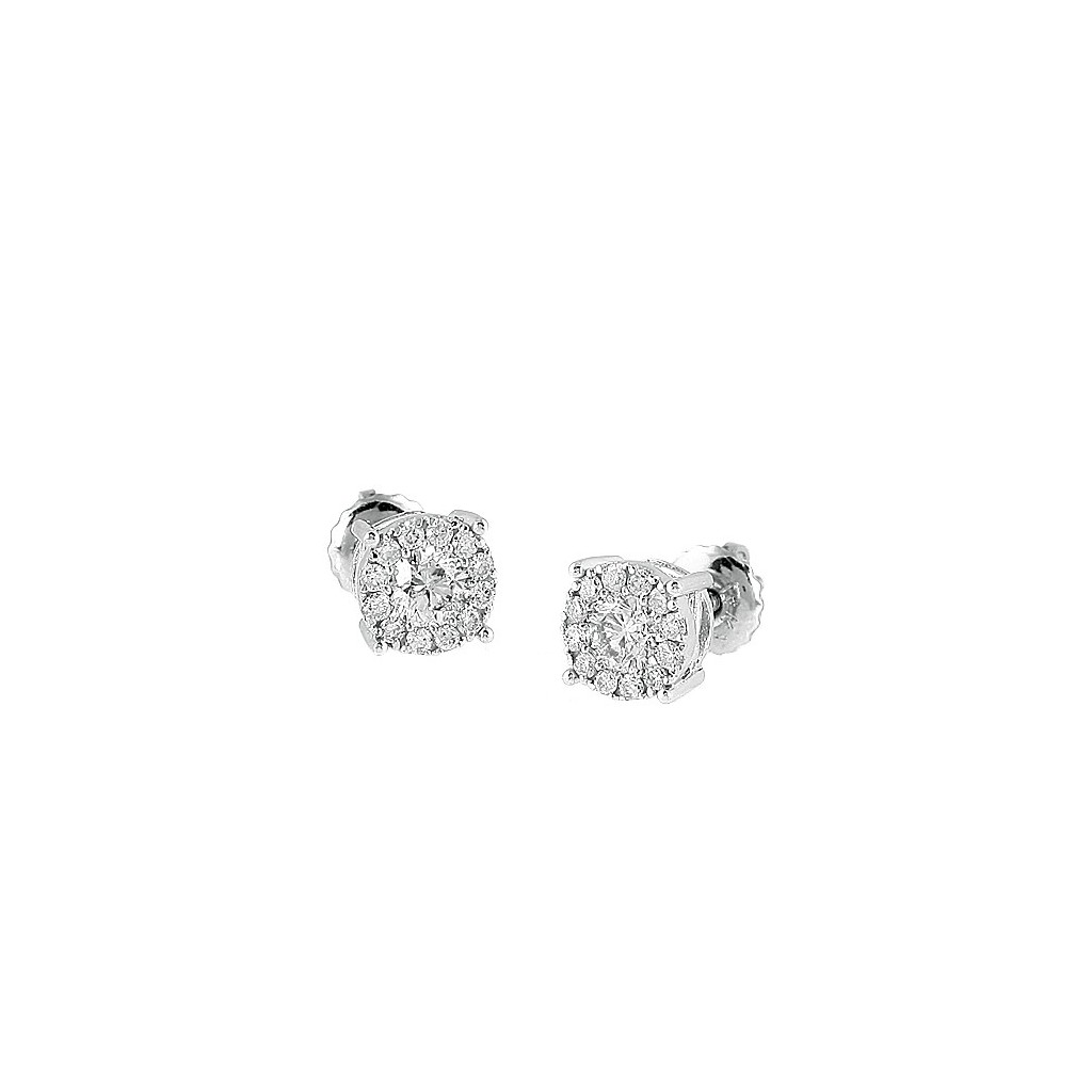 Diamond Earrings with 0.75...