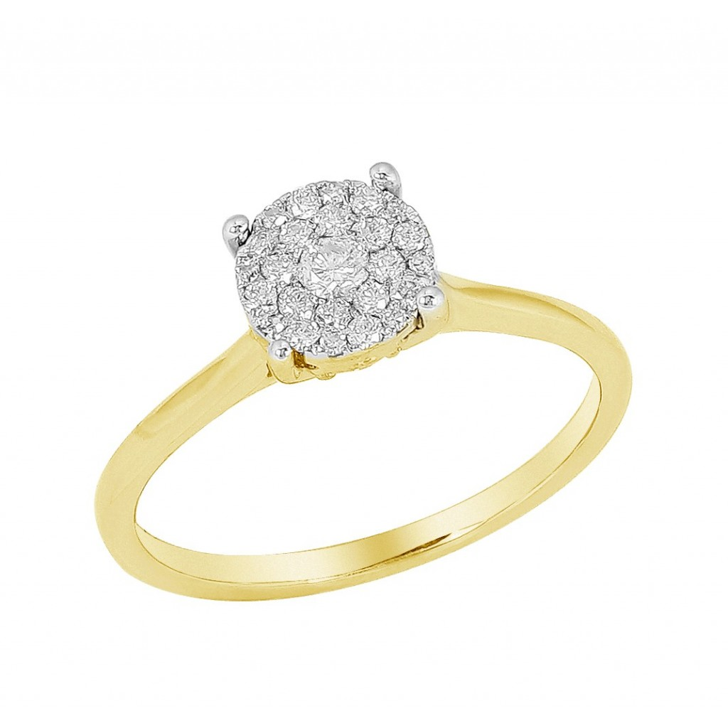 Diamond Ring with 0.25 Carats