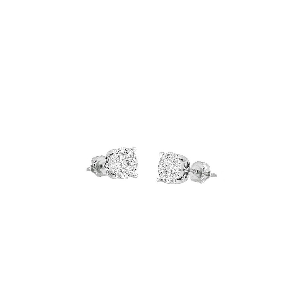 Diamond Luna Earrings with...
