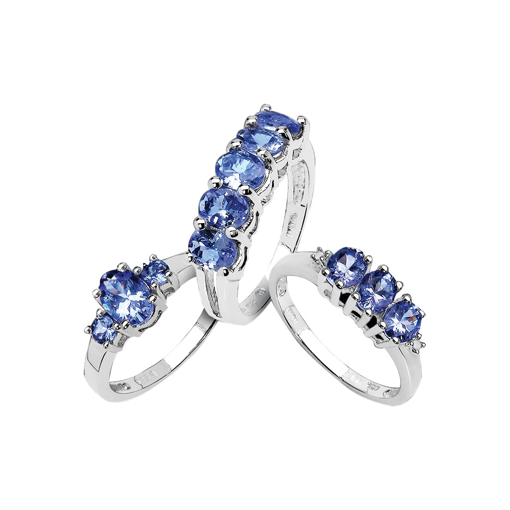 Tanzanite Rings US$ 99