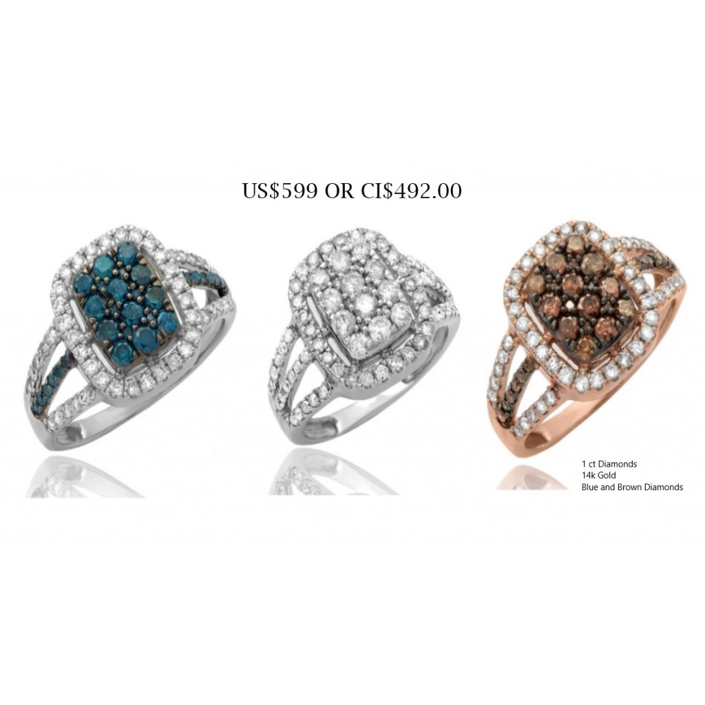 Special 1 ct Diamond Rings US$ 599.00