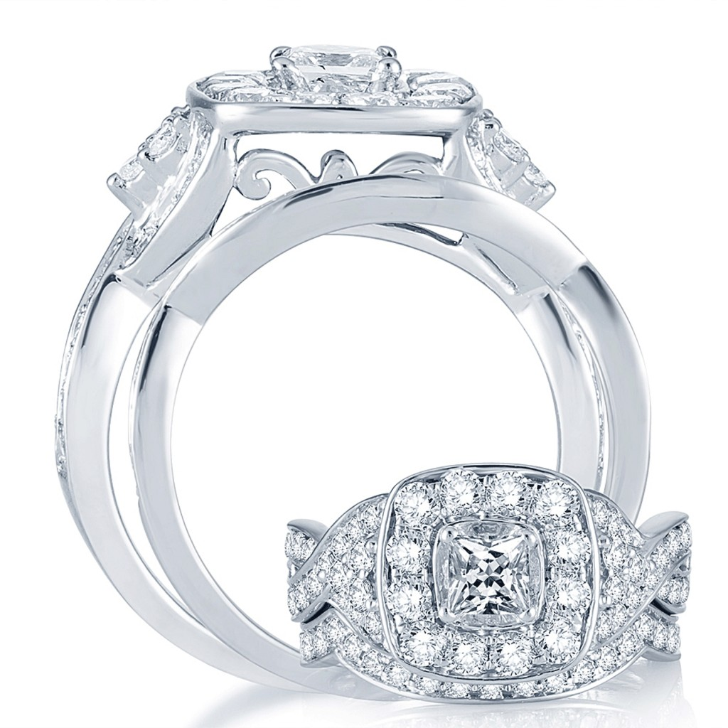Engagement Ring Set 2.03 cts -40611