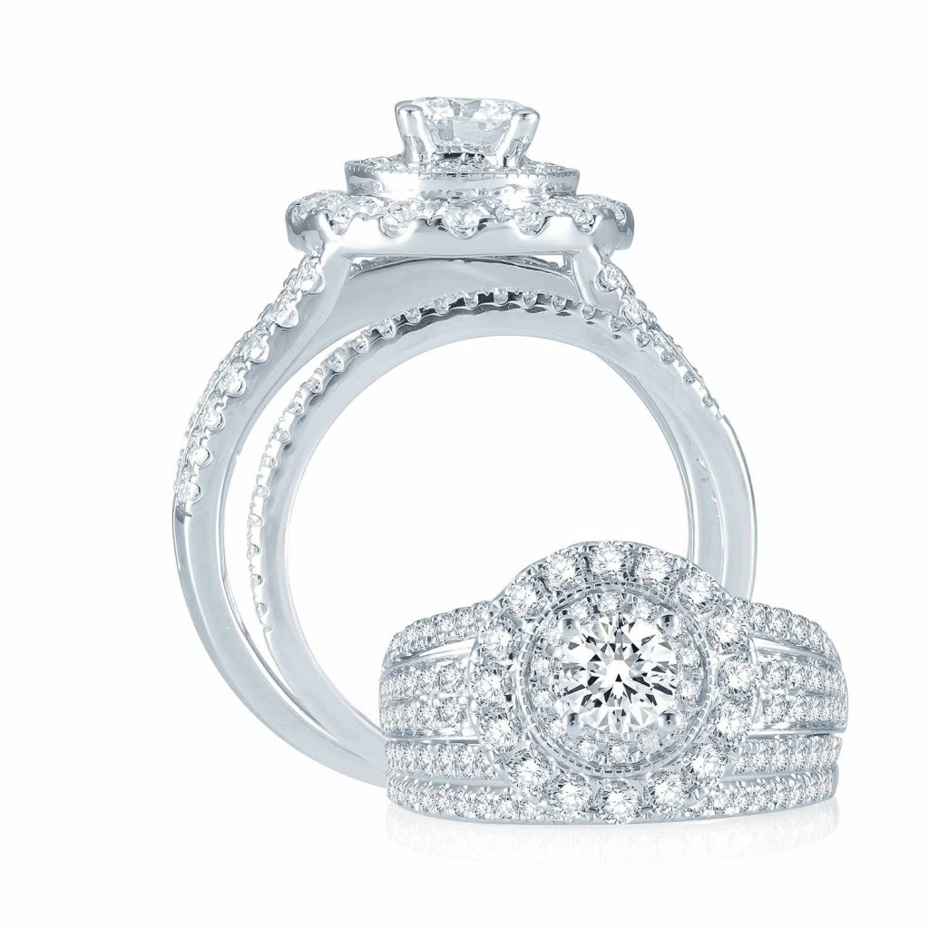 Engagement Ring Set - 2 cts - 40988