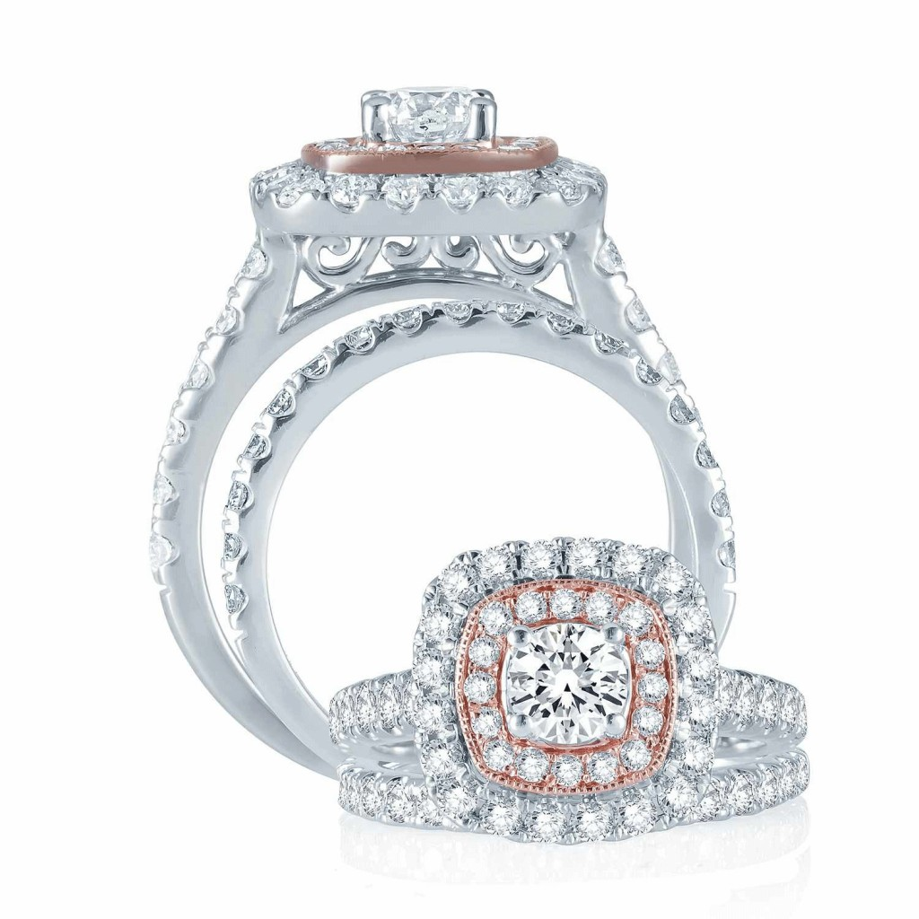Engagement Ring Set - 2 cts- 41001