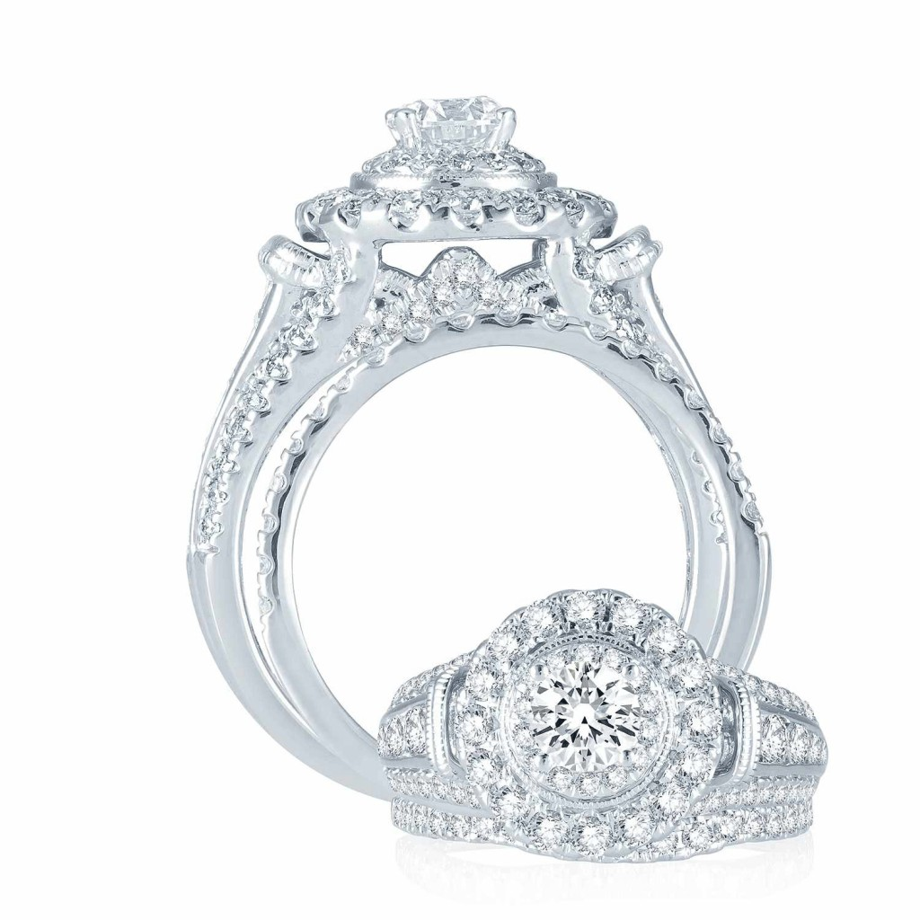Engagement Ring set 2 cts - 41141