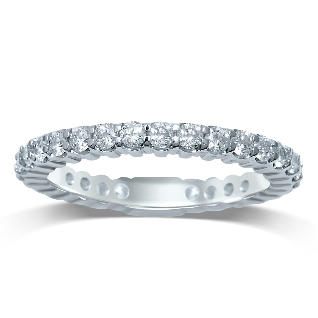 Eternity Band 1.53 cts Diamonds