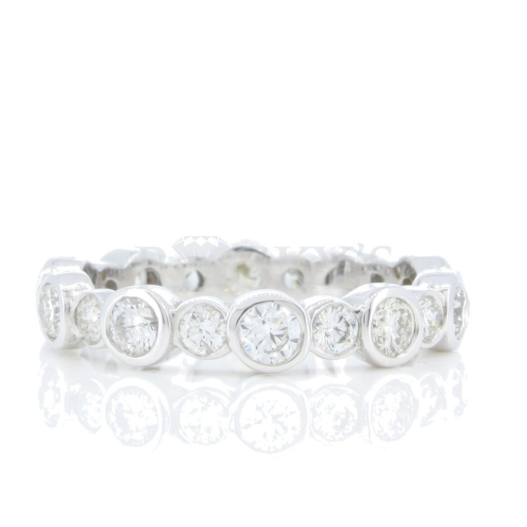 Eternity Band Bazel  with 1.28 Carats