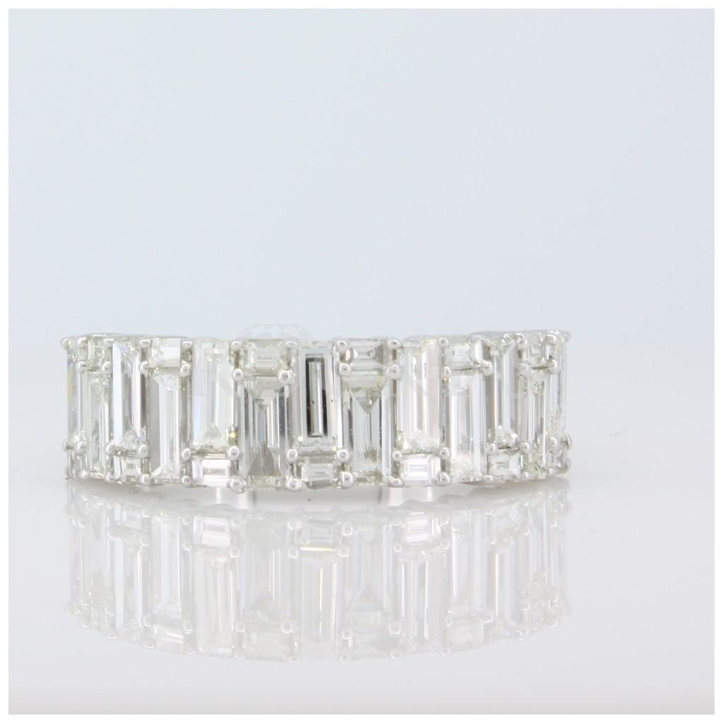 Emerald Cut Baguette Diamond 1.69 carats