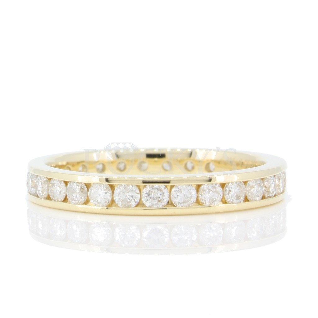 Eternity Band Channel Set 1 Carat